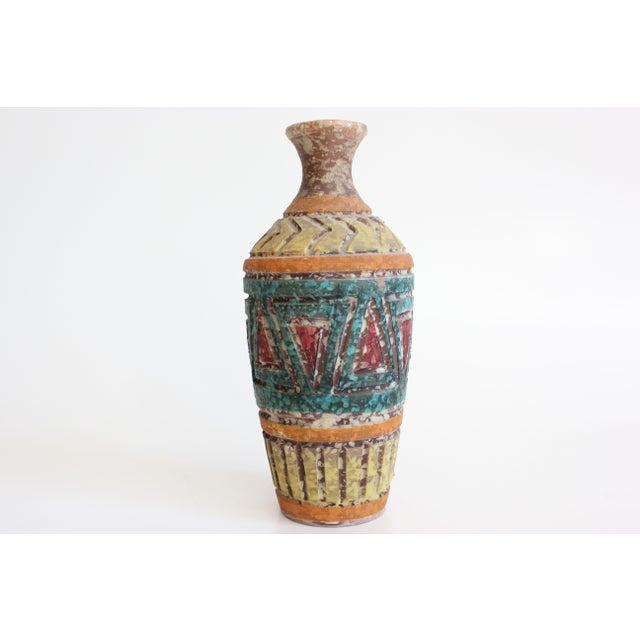 Geometric Incised Italian Art Pottery - Set of 3 - Image 6 of 7