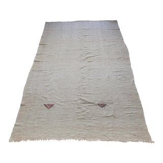 1930s Vintage Turkish Kilim Rug - 5′10″ × 12′7″