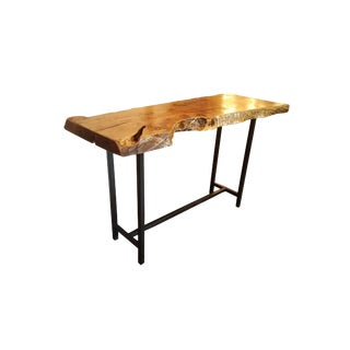 Live Edge Bar Height Table