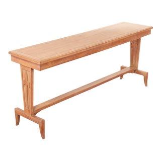 Art Deco Style Oak Console Table