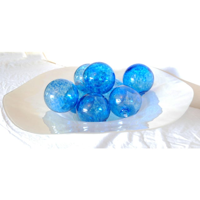 Iridescent Glass Bowl & Glass Balls - Image 4 of 9
