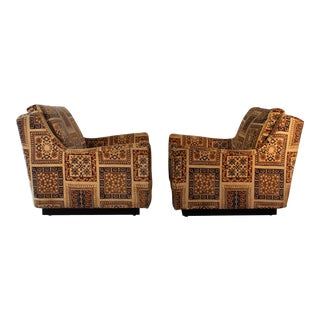 Milo Baughman for Thayer Coggin Lounge Chairs- A Pair