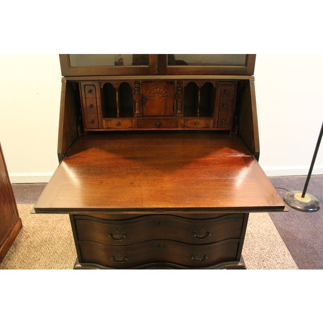 Image of Vintage Slant Front Desk/Secretary