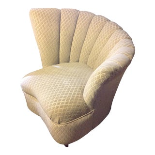 Mid-Century Kagan Style Fan Chair