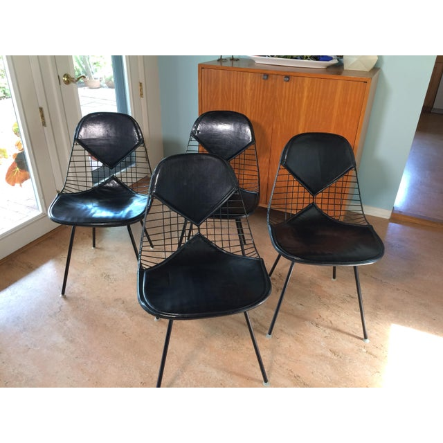 Eames for Herman Miller Black DKR-2 Bikini Chairs - Set of 4 - Image 11 of 11