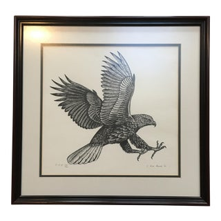 Signed and Numbered Hawk