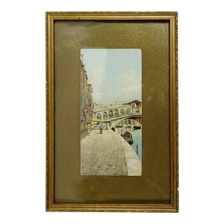 Vintage Venice Italy Print