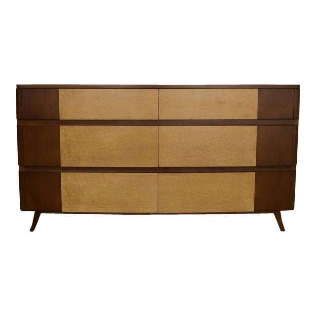 Eliel saarinen for r way furniture mid century dresser for Eliel saarinen furniture