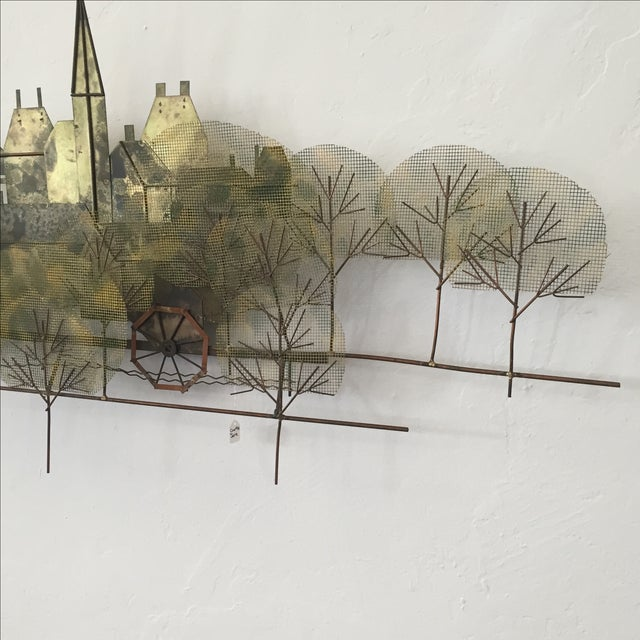 Image of Curtis Jere Metal Wall Sculpture