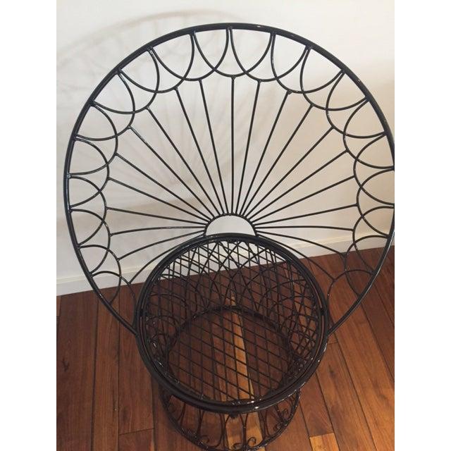 Image of Vintage BoHo Metal Peacock Chair