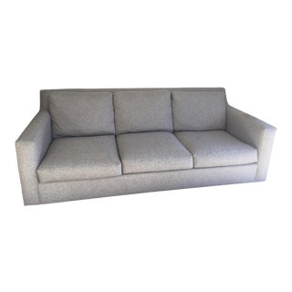 Macy's Grey Upholstered 3 Seater Sofa