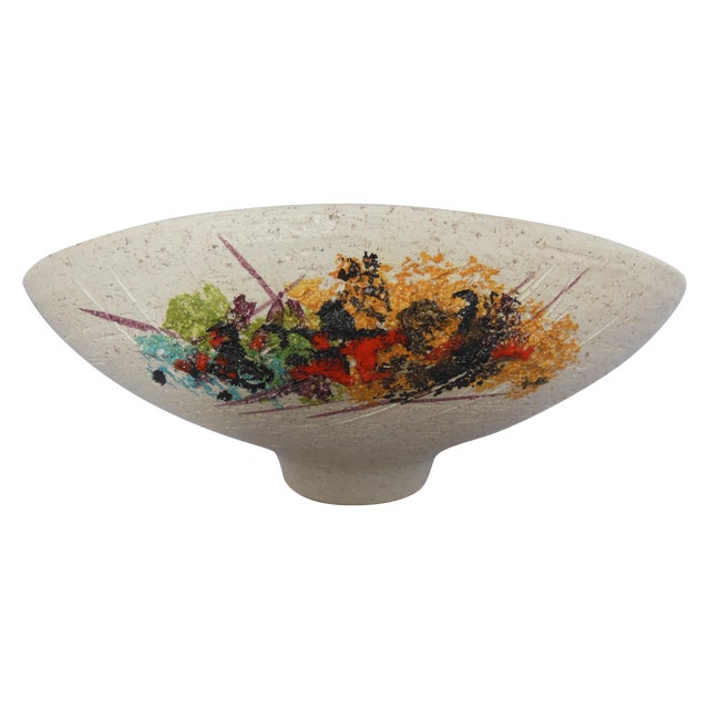 Vintage Italian Ceramic Bowl - Image 1 of 8