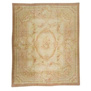 Antique Oversize 19th Century French Savonnerie Carpet