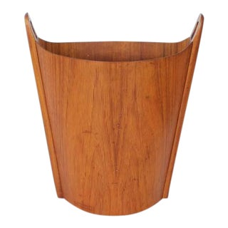 Mid Century Waste Basket By Einar Barnes For Heggen