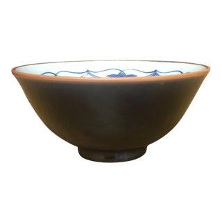 Small Vintage Porcelain Japenese Blue & White Decorative Imari Bowl