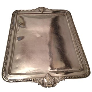 Vintage Silver Plated Waiters Tray