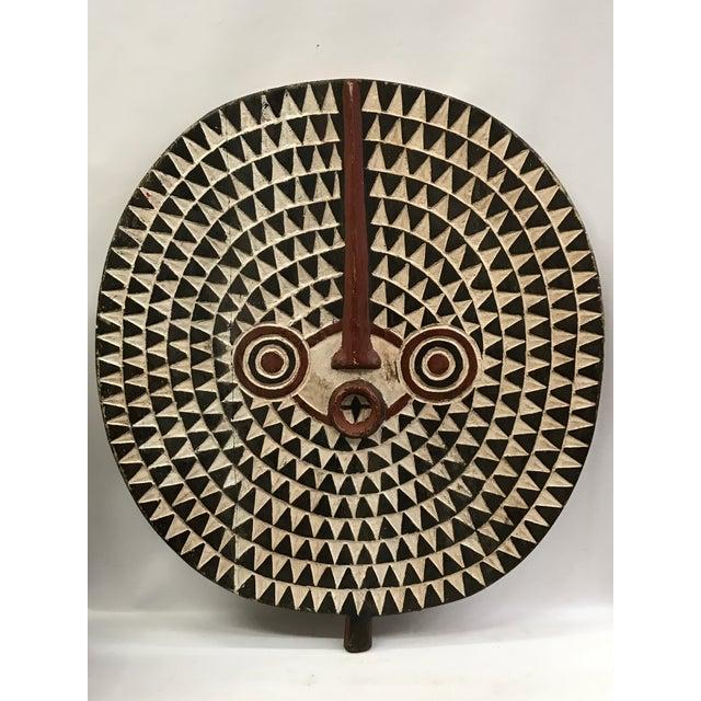 African Tribal Art Large Plank Bwa Mask - Image 2 of 6