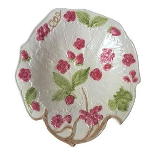 Vintage Italian Majolica Fruit Bowl