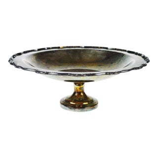 Silverplate Footed Compote Bowl