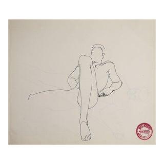 Male Nude Studies by Max Jordan