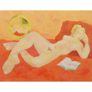 """""""Reclining Nude"""", Oil Painting by Becca Sayles"""