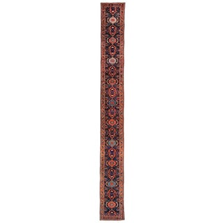 "Vintage Northwest Persian Runner - 23'8"" x 2'8"""