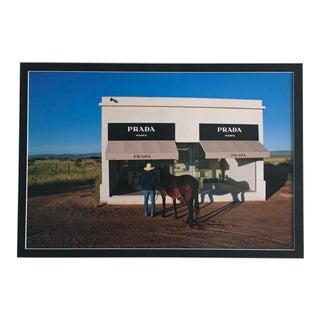 Cowboy & Mule Prada Print