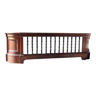 Wood & Iron Large Radiator Cover