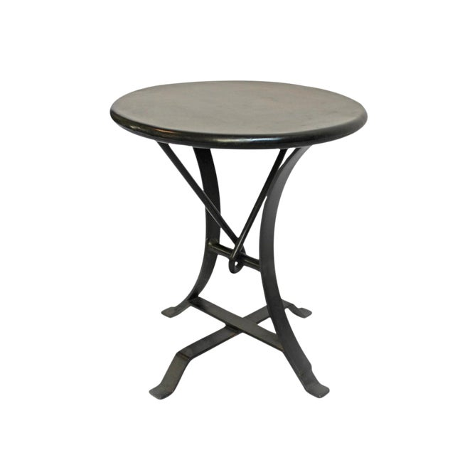 Image of Industrial Iron Twist Stool