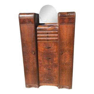 Art Deco Dresser & Mirrror