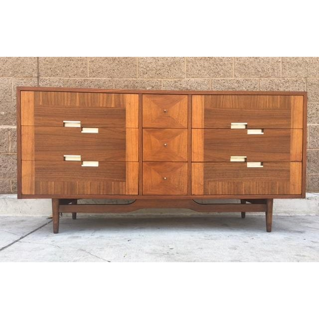 Mid Century Dresser by American of Martinsville - Image 4 of 5