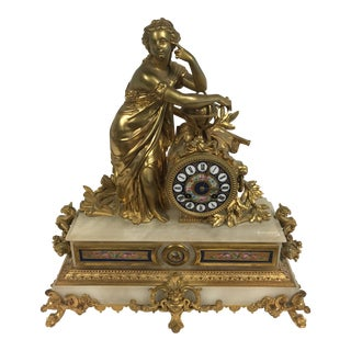 Japy Freres Ornate 19th Century French Clock