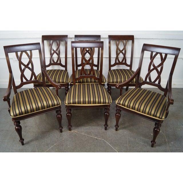 Regina Mahogany Traditional Dining Set: Stanley Traditional Mahogany Dining Chairs