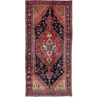 Kira Semi Antique Zanjan Persian Runner - 4′2″ × 8′9″
