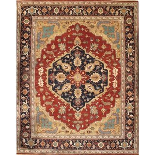 """Pasargad N Y Indian Serapi Hand-Knotted Rug - 11'9"""" X 14'8"""""""