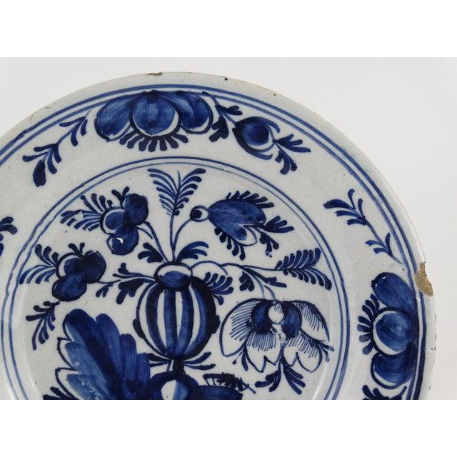 18th Century Dutch Delft Plate - Image 6 of 7
