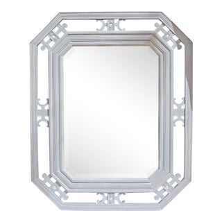 Asian-Victorian Beveled Mirror