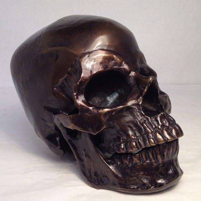 Metal Skull Sculpture - Image 5 of 7