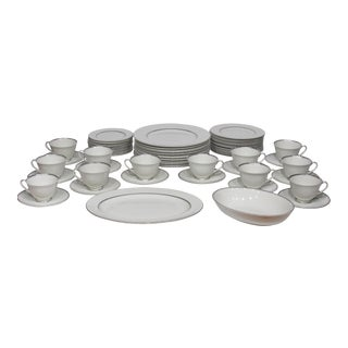 Royal Doulton Argenta Pattern Dishes-12 Place Settings.