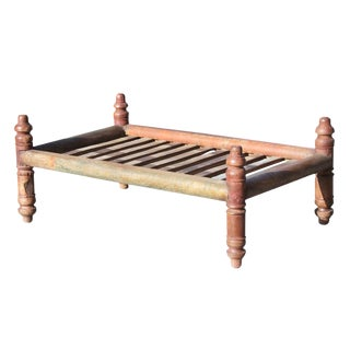 Indian Red Pidda Table