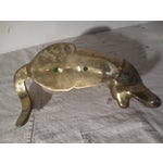 Image of Vintage 1970s Brass Panther by Dolbi Cashier