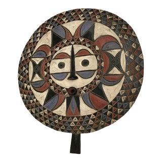 African Plank Bwa Sun Mask
