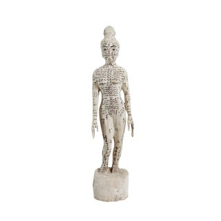 Chinese Acupuncture Small Female Statue