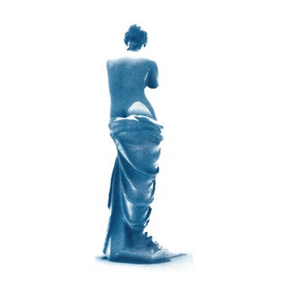 Venus de Milo Greek Sculpture, Cyanotype, A4 size (Limited Edition)