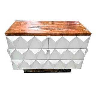 Diamond Front Brutalist Petite Dresser