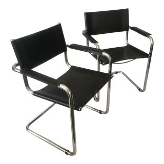 Cantilever Chairs by Marcel Breuer - Pair