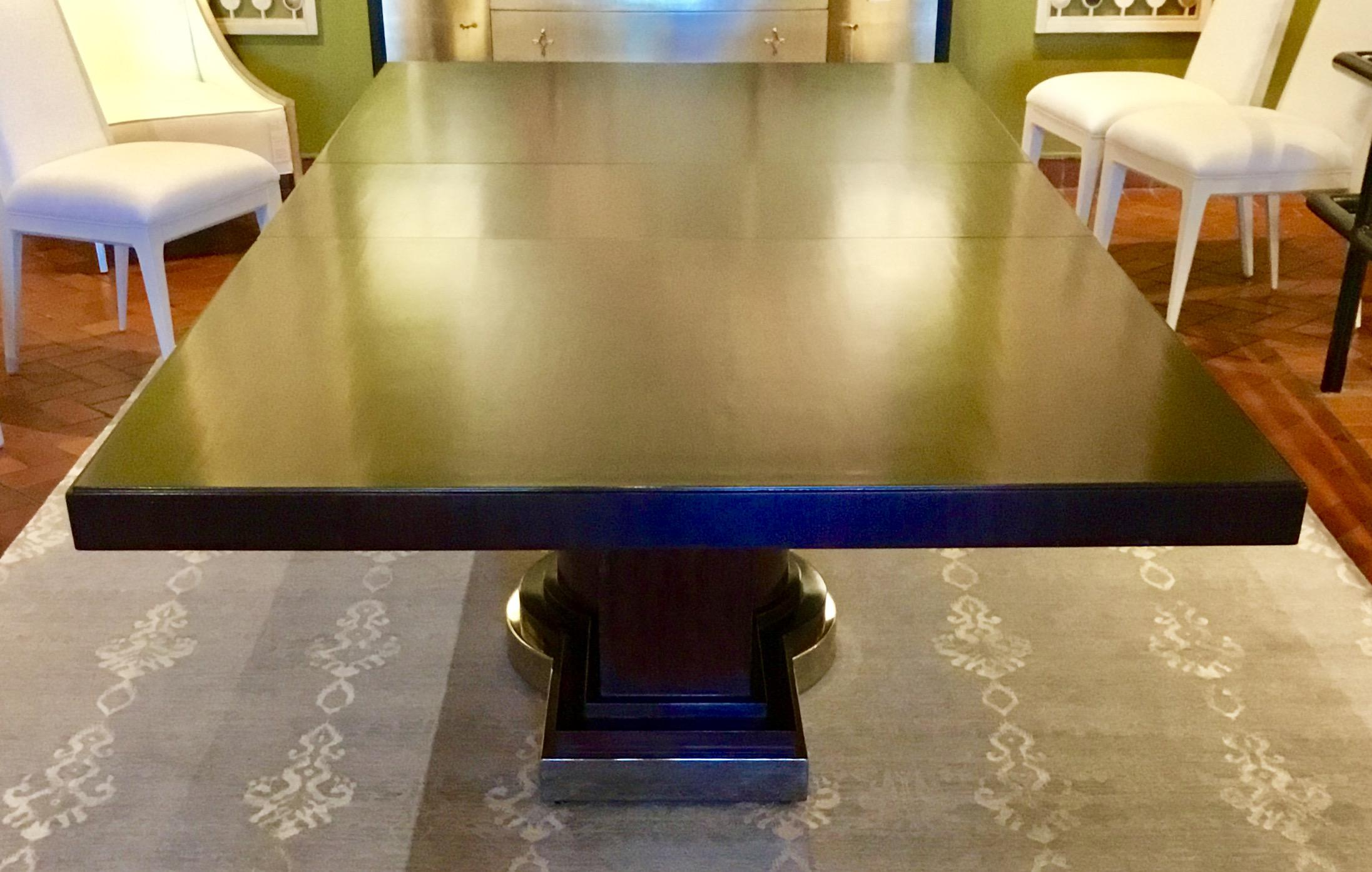 Hickory White Gramercy Dining Table   Image 3 Of 7