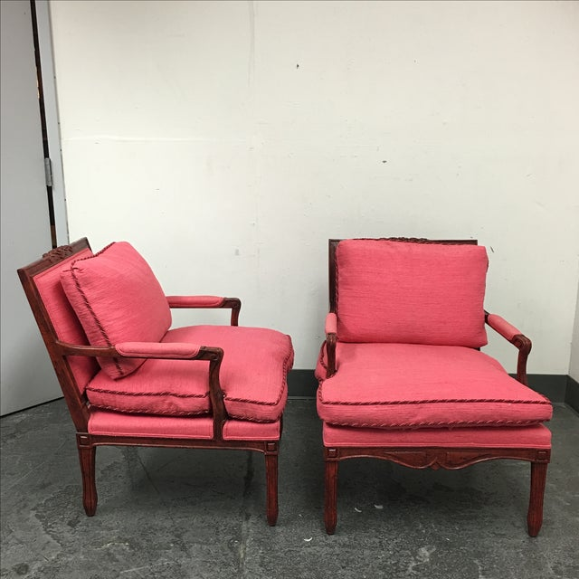 Minton-Spidell Cressant Chairs- A Pair - Image 5 of 11