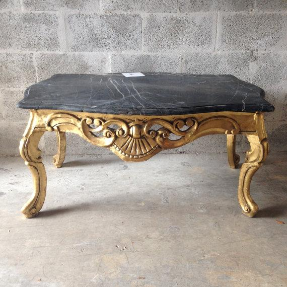 Handmade Coffee Table in Louis XVI Style - Image 2 of 6