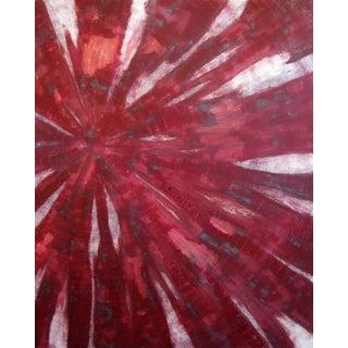 "Original ""Red Pulse"" Painting"